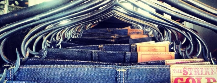 Self Edge Denim is one of SF.
