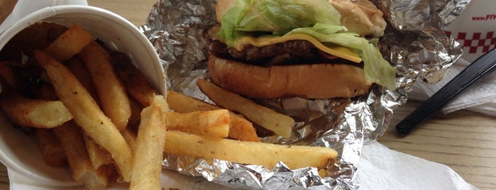 Five Guys is one of Key West.