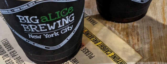 Big Alice Brewing is one of Bars, Breweries, Beer Gardens.