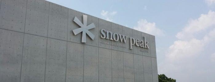 Snow Peak Headquarters is one of にいがた.