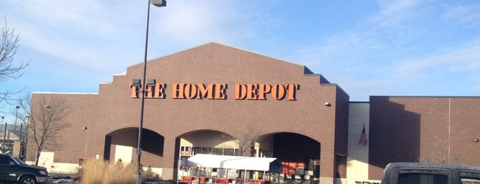 The Home Depot is one of Marie's Liked Places.