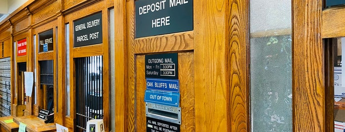 US Post Office is one of MA.