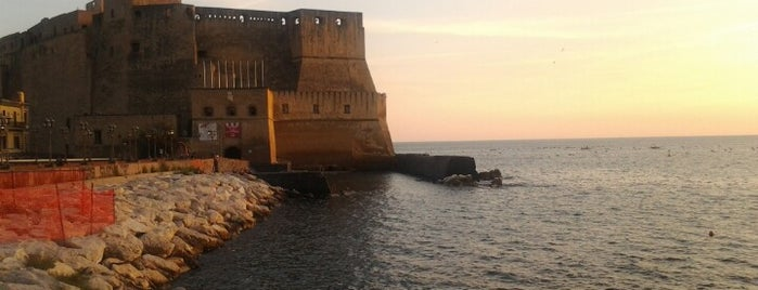 Castel dell'Ovo is one of Naples.