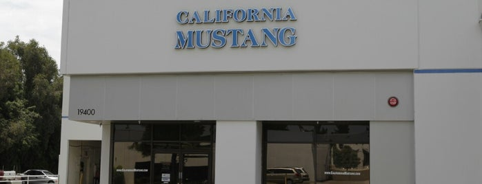 California Mustang Parts and Accessories is one of My places.