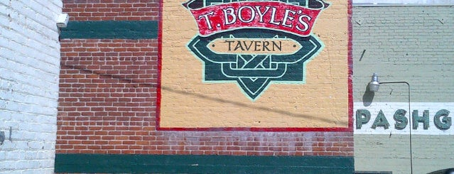 T. Boyle's Tavern is one of Placestoeat.