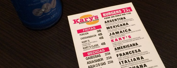 Kary's Burger Class is one of Buenos Aires sin gluten.