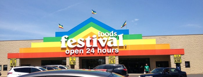 Festival Foods is one of Paulina's Liked Places.