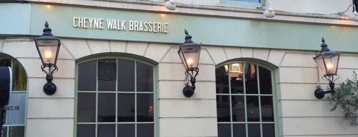 Cheyne Walk Brasserie is one of Enjoyed visiting this place.