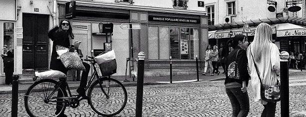 Rue des Abbesses is one of Paris.