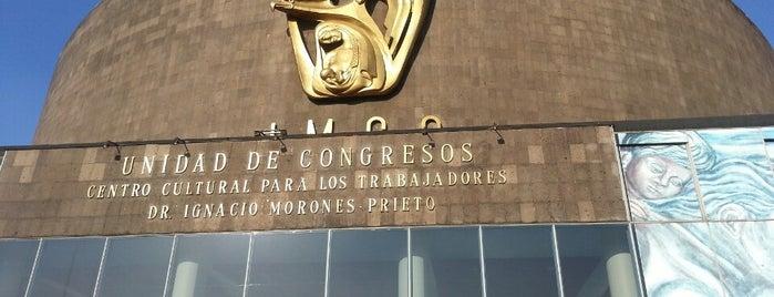 Unidad de Congresos CMN Siglo XXI is one of Locais curtidos por Israel.