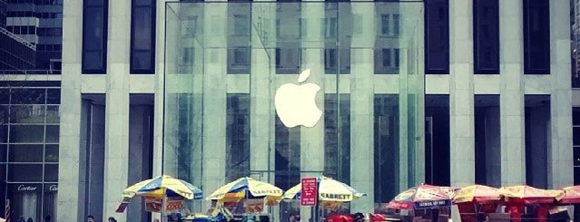 Apple Fifth Avenue is one of New York.