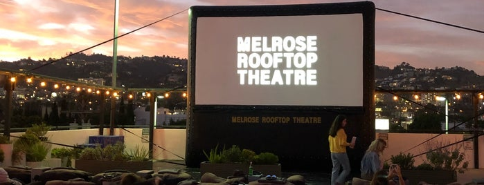 Melrose Rooftop Cinema is one of LA.