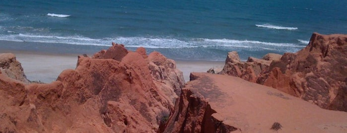 Praia do Morro Branco is one of Locais curtidos por Ana.