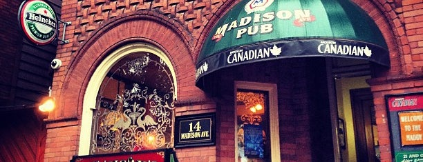 The Madison Avenue Pub is one of Toronto.