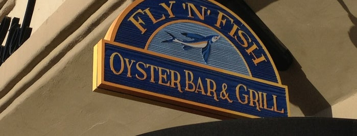 Fly 'N' Fish Oyster Bar & Grill is one of Los Angeles/Malibu/Orange County.