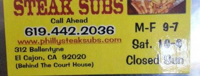 Philly Steak Subs is one of Posti salvati di Tony.