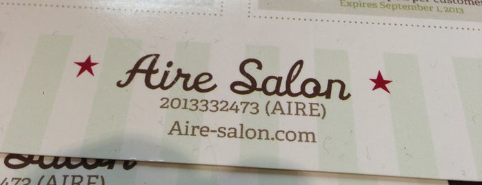 Aire Salon is one of SKWさんのお気に入りスポット.