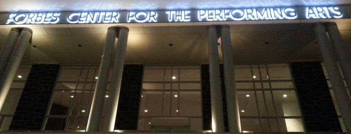 Forbes Center for the Performing Arts is one of JMU.