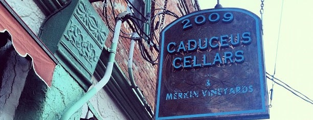 Caduceus Cellars Tasting Room is one of Locais curtidos por Cusp25.
