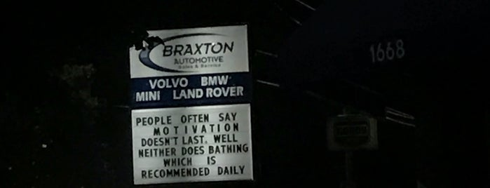 Braxton Automotive is one of Lieux qui ont plu à Nikki.
