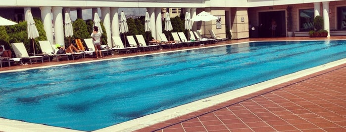 Marriott Palestra Pool is one of Locais curtidos por *mir@ge*.