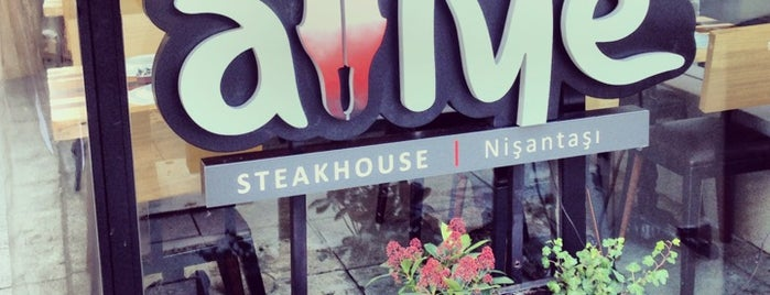 Atiye Steak House is one of Tempat yang Disukai Emine.