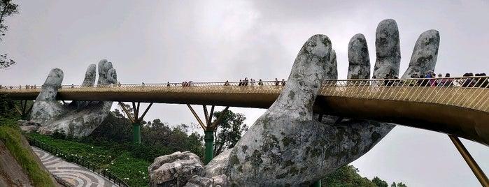 Golden Bridge is one of vietnam.