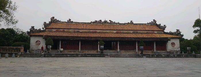 Điện Thái Hòa (Palace of Supreme Harmony) is one of Hue.