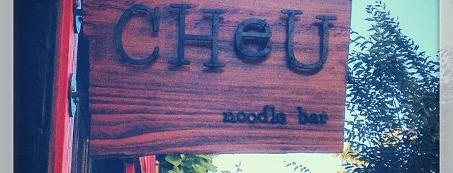 Cheu Noodle Bar is one of Ramen to try.