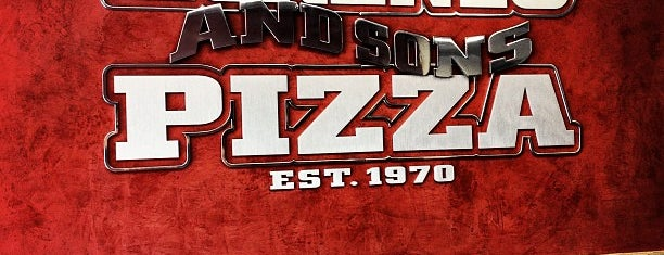 Lorenzo & Sons Pizza is one of 4sq Cities! (USA).