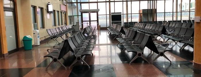 Maharana Pratap Airport Udaipur: Domestic Departure Lounge is one of Locais curtidos por Sravanti.