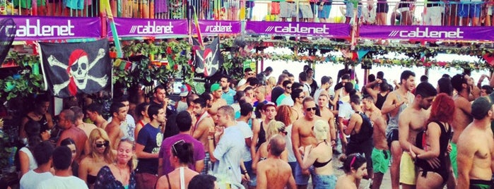 Guaba Beach Bar is one of DJ Mag Top 100 Club (2014).