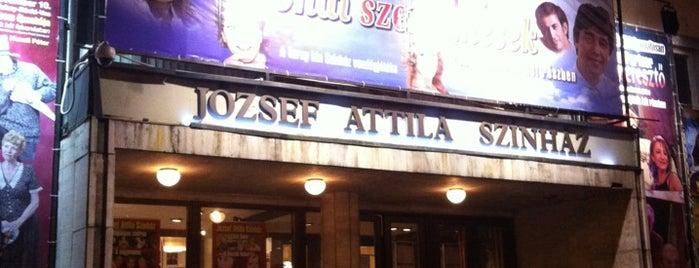József Attila Színház is one of Ma Este Színház!.