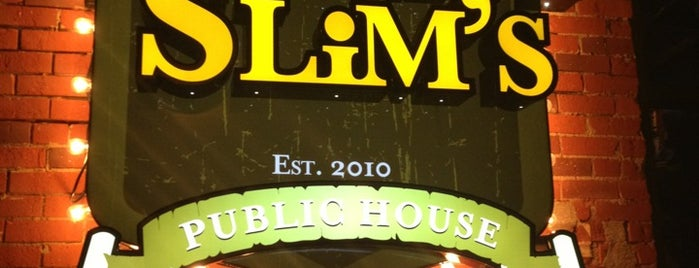 Skinny Slims Public House is one of New Places To Try.