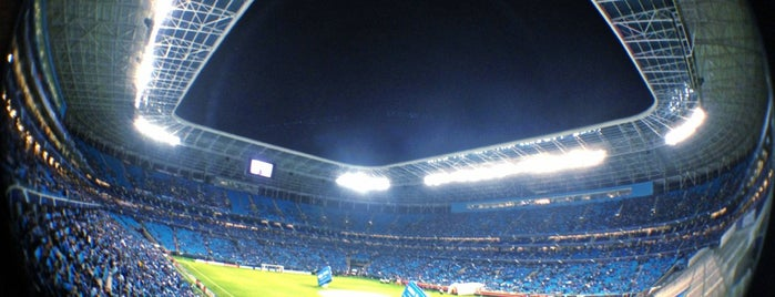 Arena do Grêmio is one of Porto Alegre/RS.