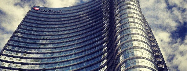 Piazza Gae Aulenti is one of milan.