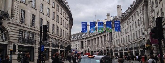 Regent Street is one of London Essentials.
