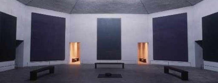 Rothko Chapel is one of Houston.