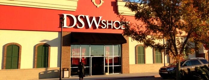 DSW Designer Shoe Warehouse is one of Baton Rouge Shopping.