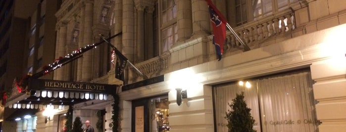 Capitol Grille is one of Taylor Swift's Favorite Spots in Nashville.