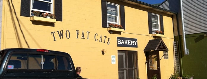 Two Fat Cats Bakery is one of Portland.