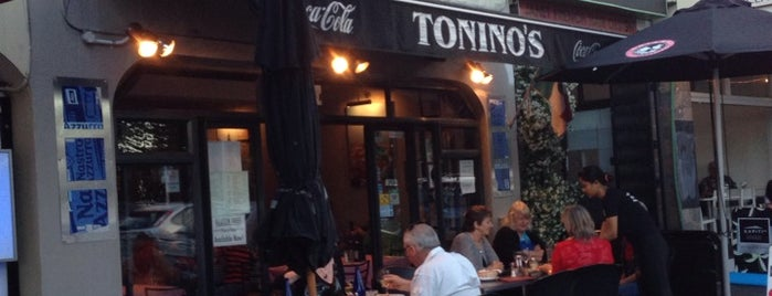 Tonino's is one of Insider Info.