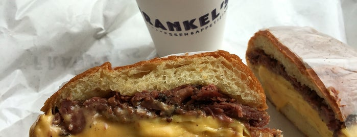 Frankel's Delicatessen is one of The Locals Only Guide to Eating & Drinking in NYC.
