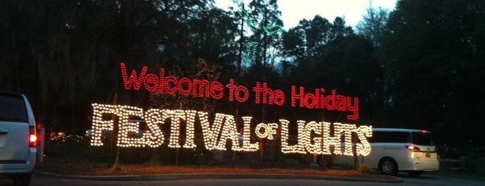 Holiday Festival Of Lights is one of Lugares favoritos de Tyler.