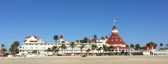Coronado Beach is one of Gespeicherte Orte von Mary.