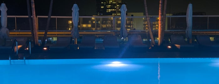 1 Hotel South Beach Rooftop & Lounge Bar is one of Miami.