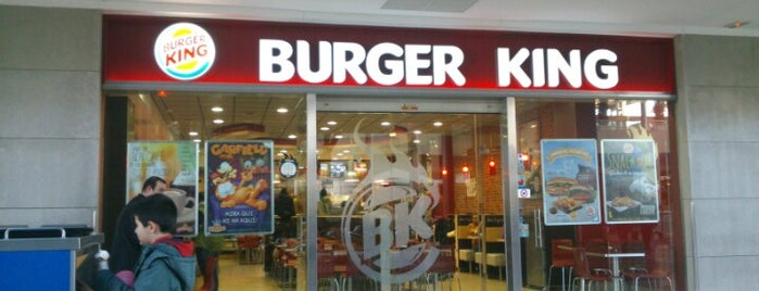 Burger King is one of Barcelona voltants.