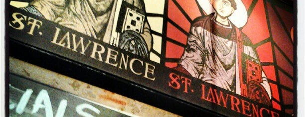 Saint Lawrence is one of Bouchercon exploring.