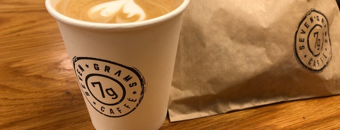 Seven Grams Caffé is one of Tempat yang Disukai Yani.
