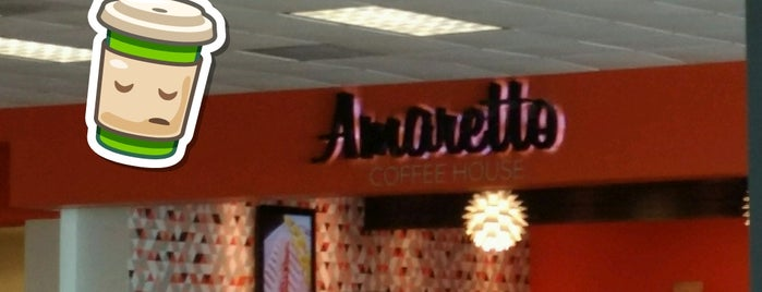 Amaretto Coffee House is one of Antonioさんのお気に入りスポット.